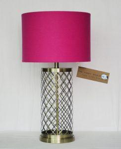 Lamp Brass Trelis