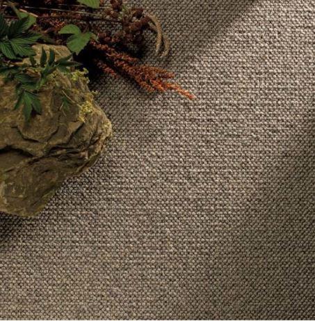 Millstone wool loop carpet